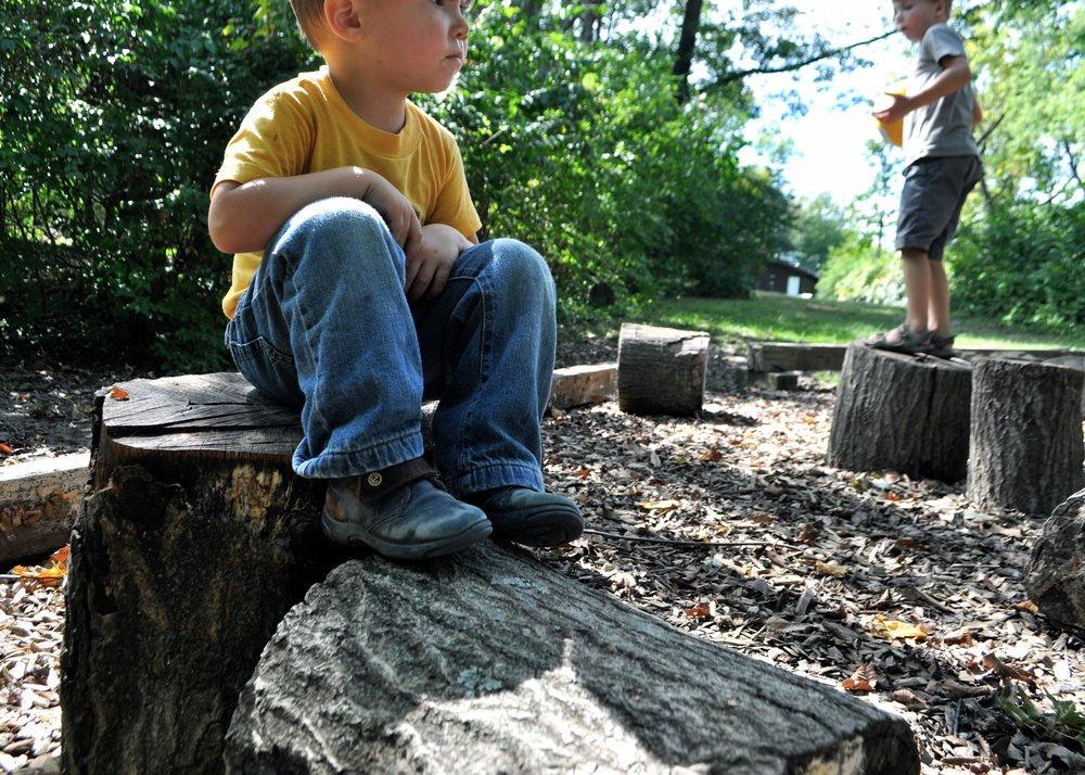Loose Parts Play: A Montessori Playground